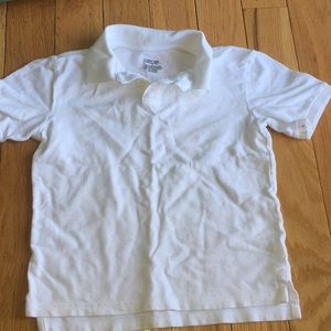 Kids white polo